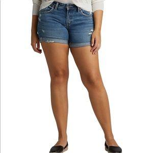 Silver Jeans- Boyfriend shorts- Midrise